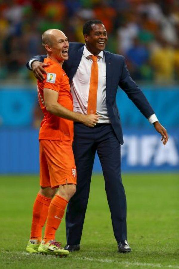 Fue auxiliar técnico de Louis Van Gaal, con la Selección de Holanda, en el Mundial de Brasil Foto:Getty