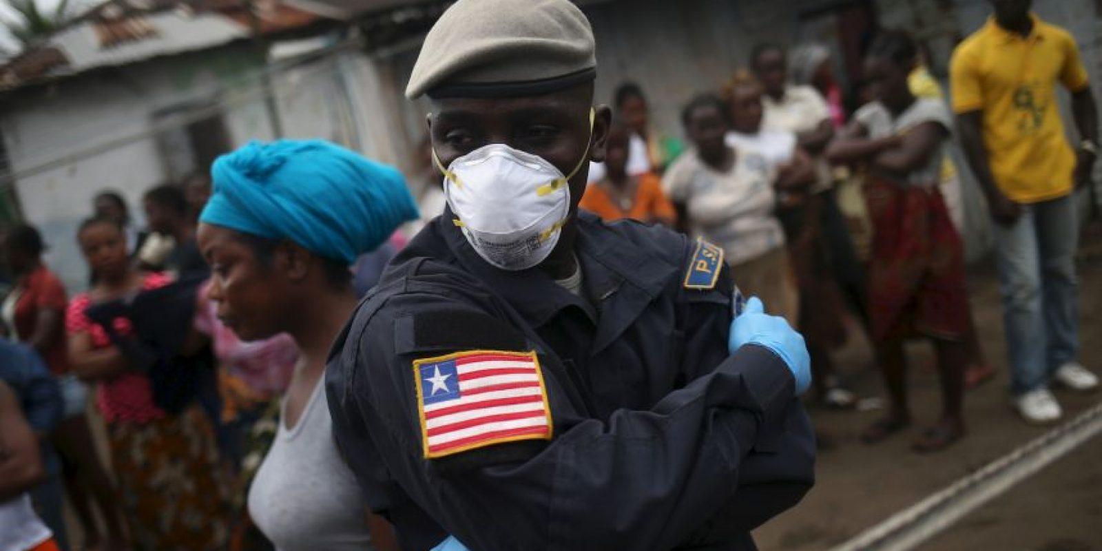 Liberia, durante el peor momento de la crisis por el virus de Ébola Foto:Getty Images