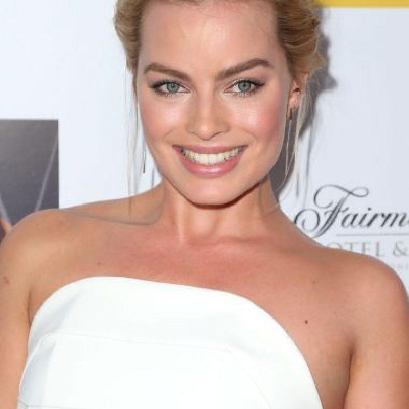 """La actriz australiana Margot Robbie tiene 24 años de edad y antes apareció en """"The Wolf of Wall Street"""". Foto:Getty Images"""