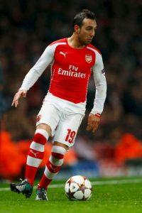 El también jugador del Arsenal inglés publicó una foto en que comparaba al Tottenham con excremento. Cazorla tuvo que ofrecer disculpas a los aficionados. Foto:Getty Images