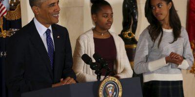 Las hermanas Obama han sido objeto de críticas en el pasado. Foto:Getty