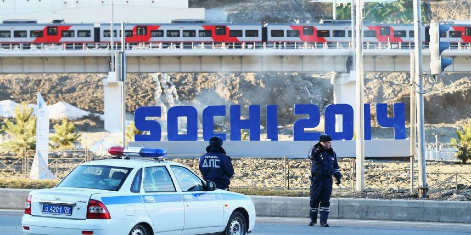 Rusia: Durante los Juegos Olímpicos de Invierno Sochi 2014 Foto:Getty Images