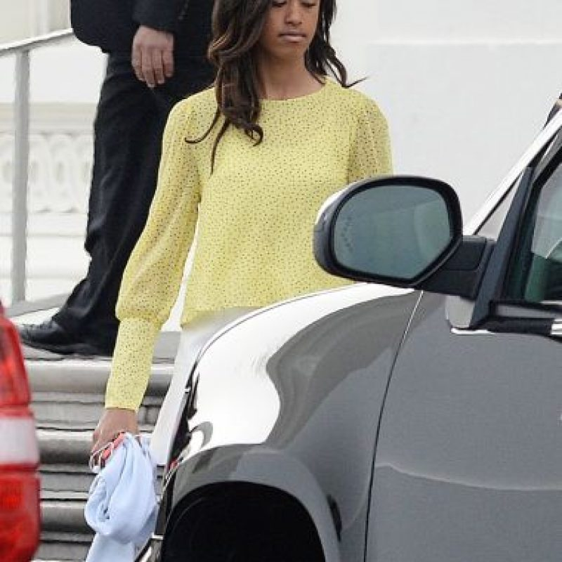Malia es la hija mayor de Barack Obama y Michelle Obama. Foto:Getty