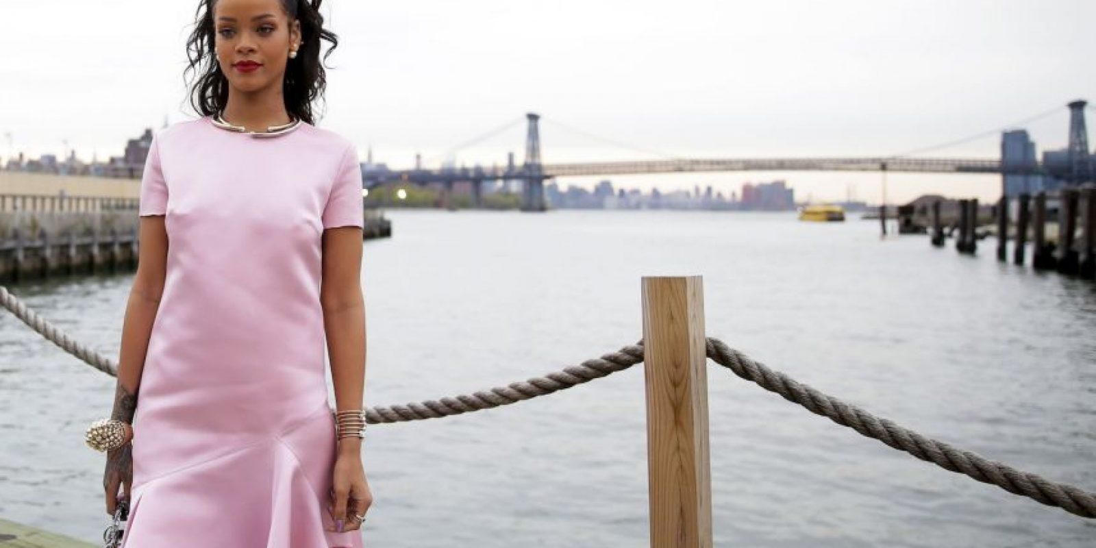 Su carrera comenzó cuando conoció al productor musical Evan Rogers Foto:Getty Images