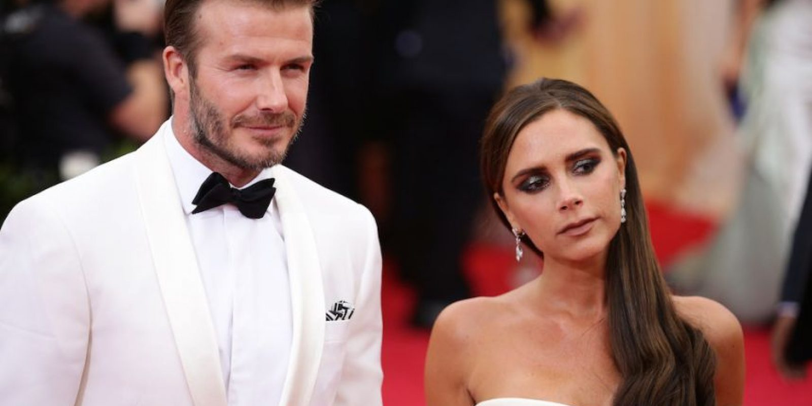Victoria y David Beckham. Foto: Getty Images