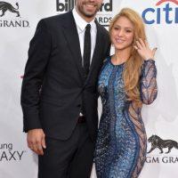 Gerrard Piqué y Shakira. Foto:Getty Images