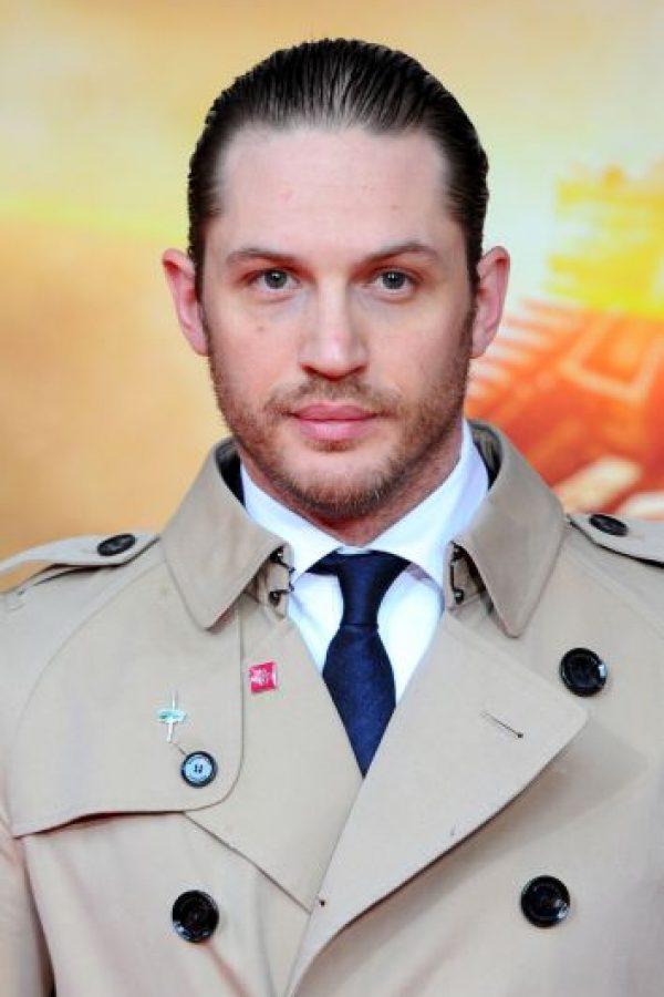 El actor británico Tom Hardy tiene 37 años de edad y en 2010 ganó un premio BAFTA. Foto:Getty Images