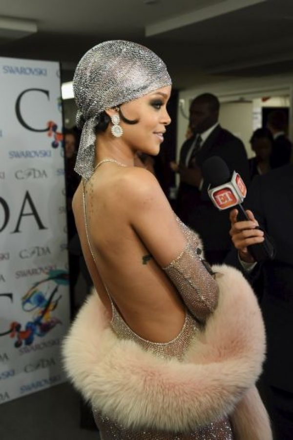 Su nombre completo es Robyn Rihanna Fenty Foto:Getty Images