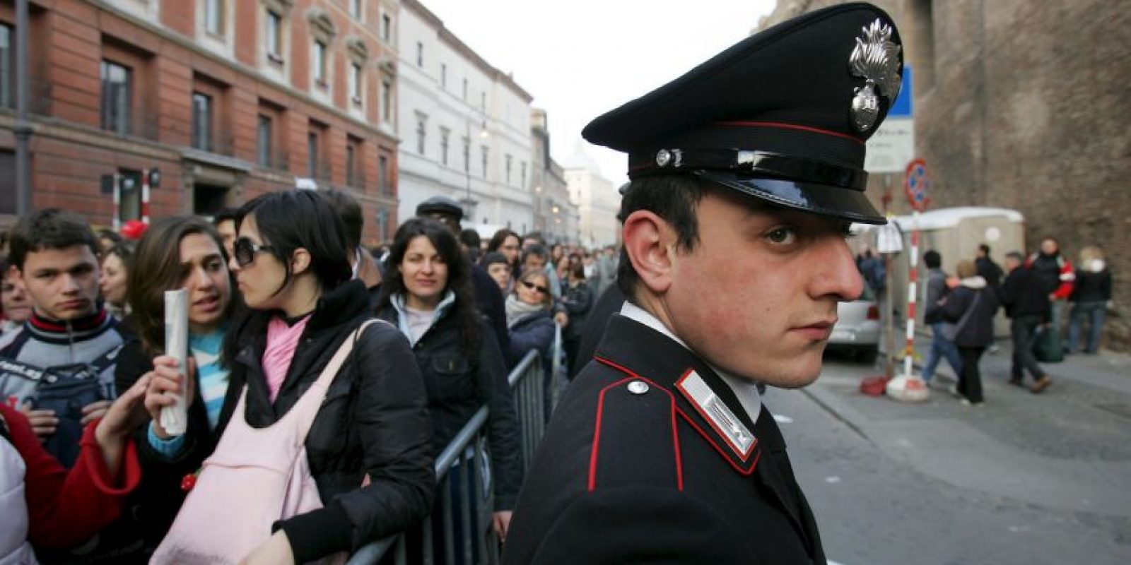 Italia: Durante la canonización del Papa Juan Pablo II Foto:Getty Images