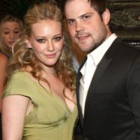 Mike Comrie y Hilary duff. Foto: Getty Images