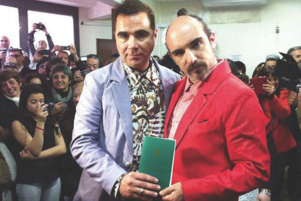 Sergio y Rodrigo. Foto:Archivo personal