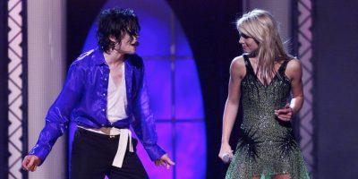 La cantante cantó junto a Michael Jackson. Foto:Getty Images