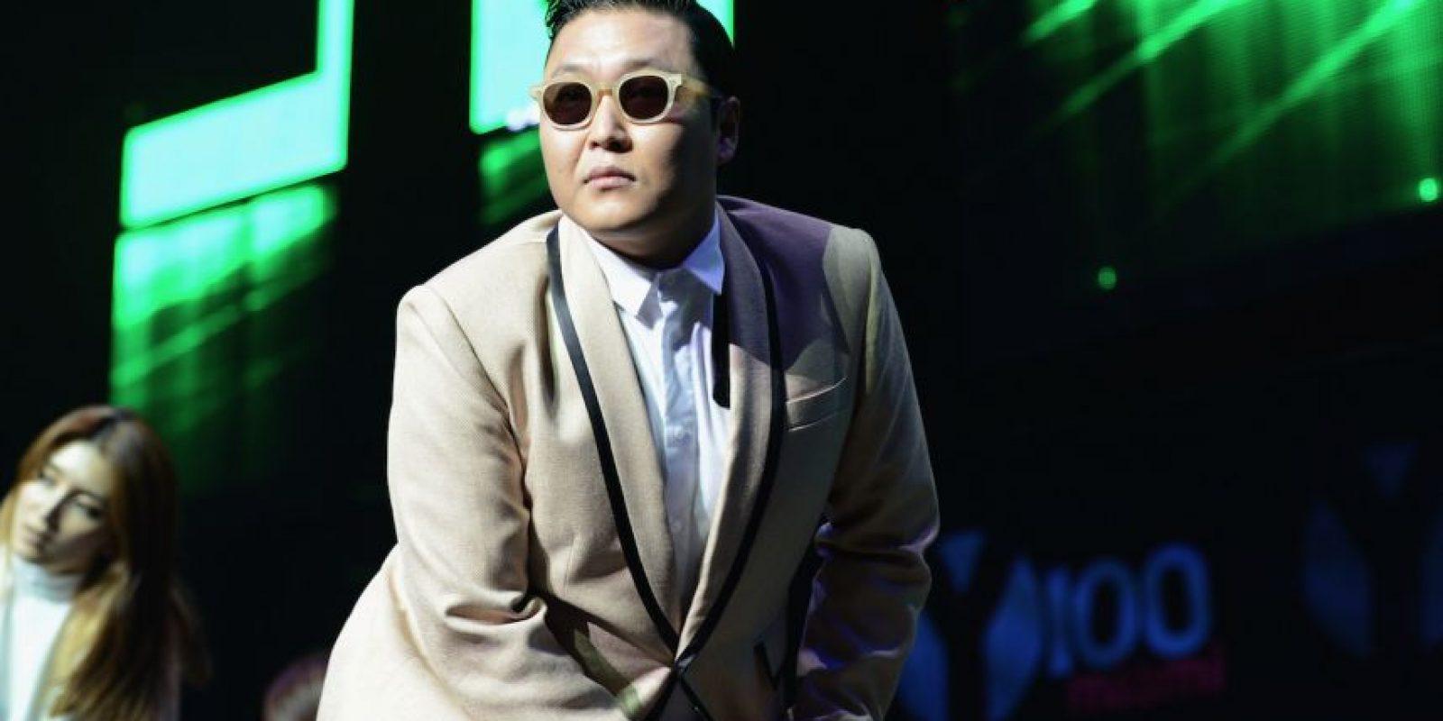 """En 2012, este hombre se convirtió en una celebridad mundial gracias al éxito de la canción """"Gangnam Style"""" Foto:Getty Images"""