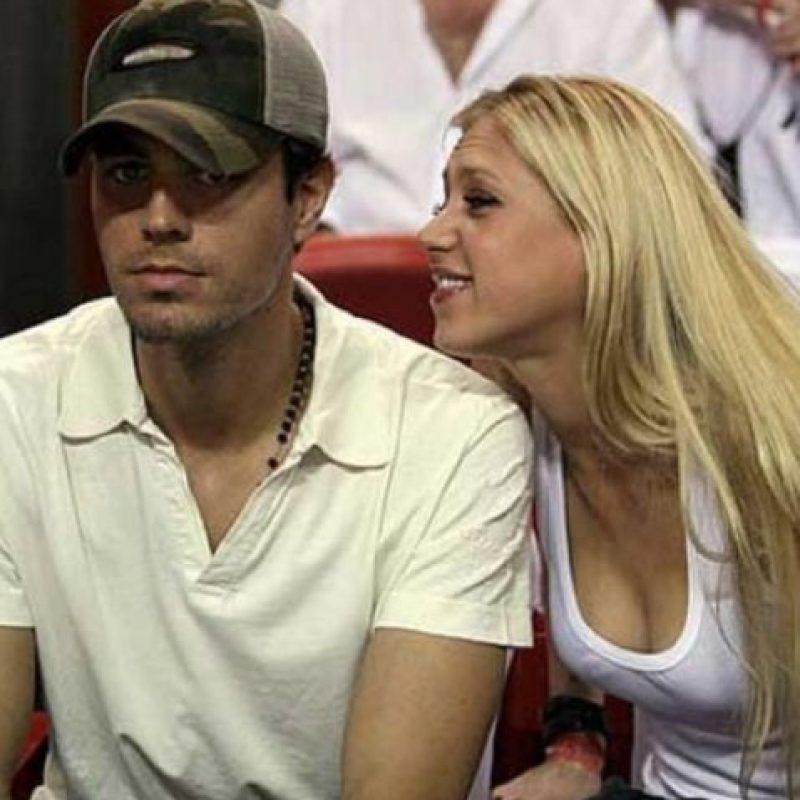 BONUS: Anna Kournikova y Enrique Iglesias. Foto:Twitter
