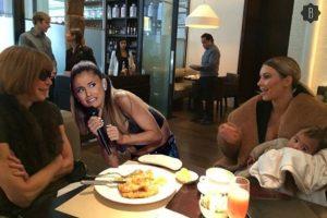 Ariana teme a la conversación de Kim Kardashian con Anna Wintour. Foto:Bustle.com