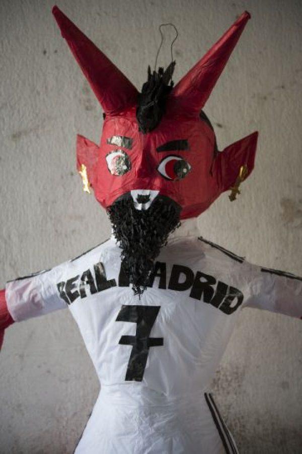 CR7 también será quemado el próximo domingo. Foto:Oliver de Ros