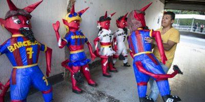 También hay diablos femeninos Foto:Oliver de Ros