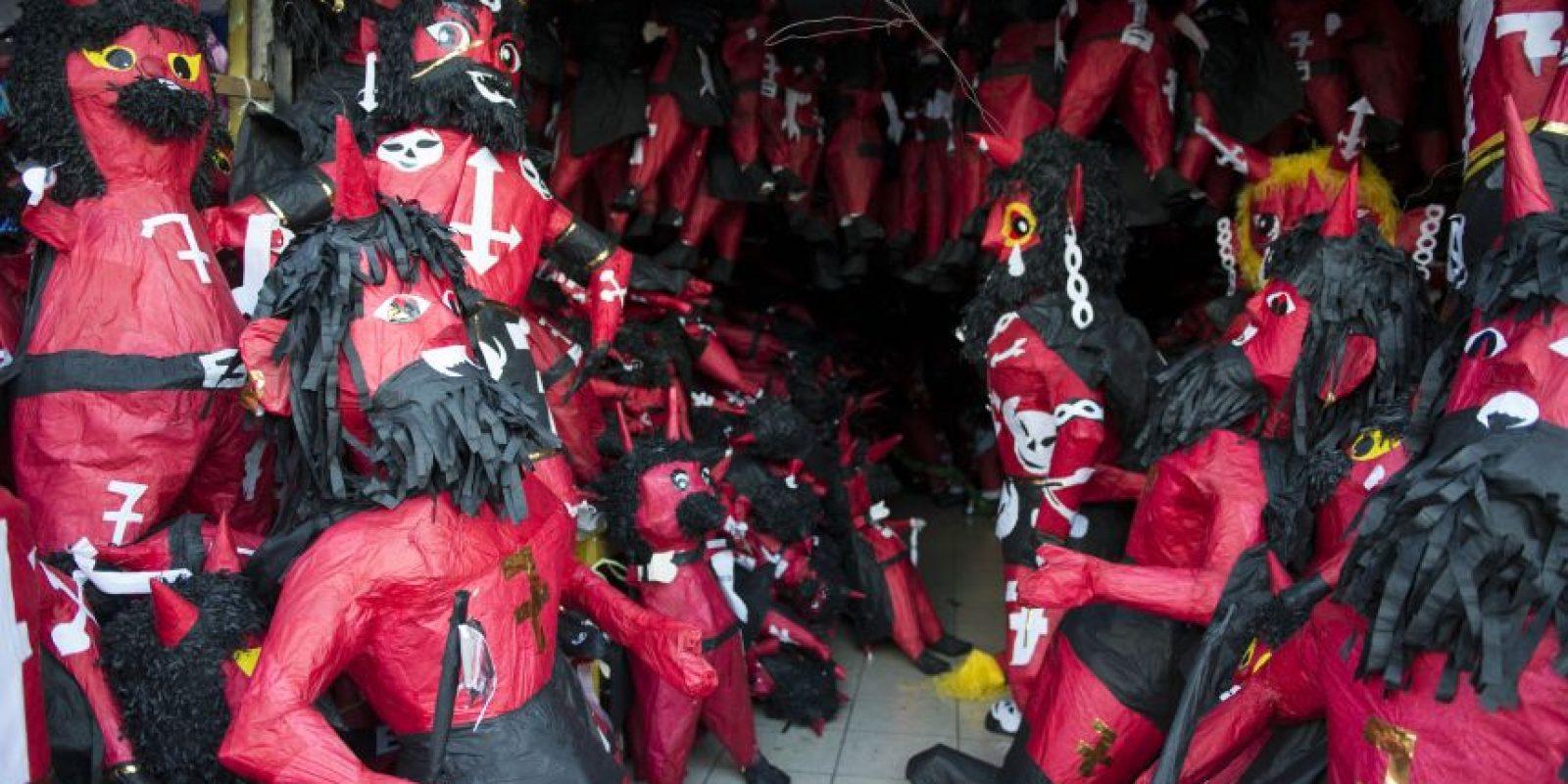 Hay variedad de diablos en la zona 1. Foto:Oliver de Ros