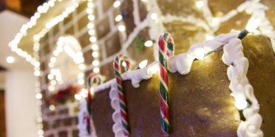 GALERÍA: El hotel Intercontinental se viste de jengibre para estas navidades