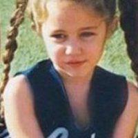 Miley Cyrus de pequeña también fue animadora Foto:Twitter