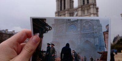 """FOTOS: Así se vería """"Assassin""""s Creed Unity"""" en el París actual"""