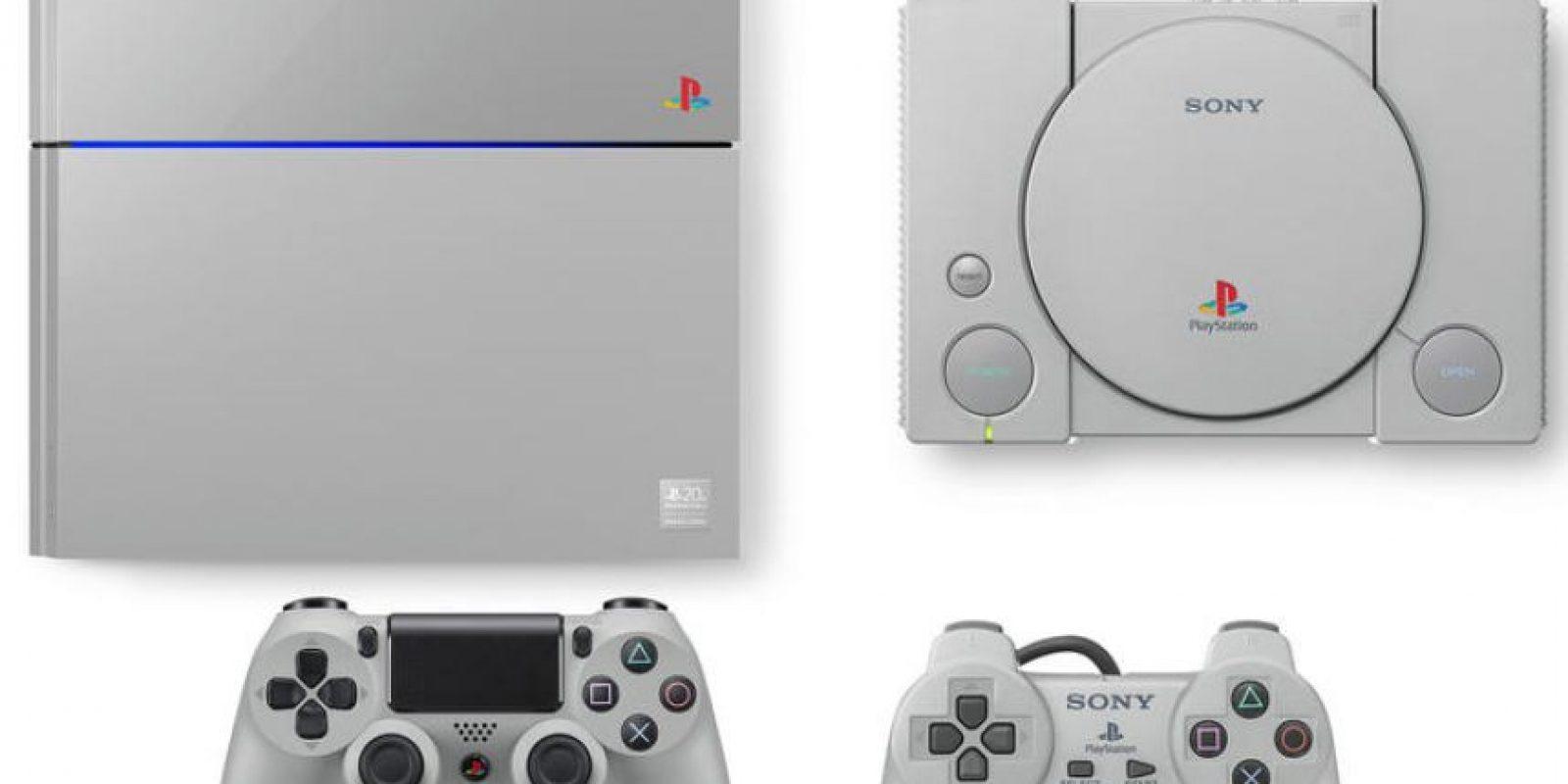 Para el vigésimo aniversario de la consola, la compañía lanzará una versión de su nueva plataforma, la Playstation4, muy parecida a la primera consola de 1994 Foto:Playstation