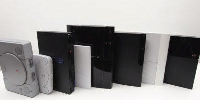 En 20 años la Playstation ha presentado cuatro diferentes consolas. Algunas con una segunda versión más delgada. Foto:Playstation