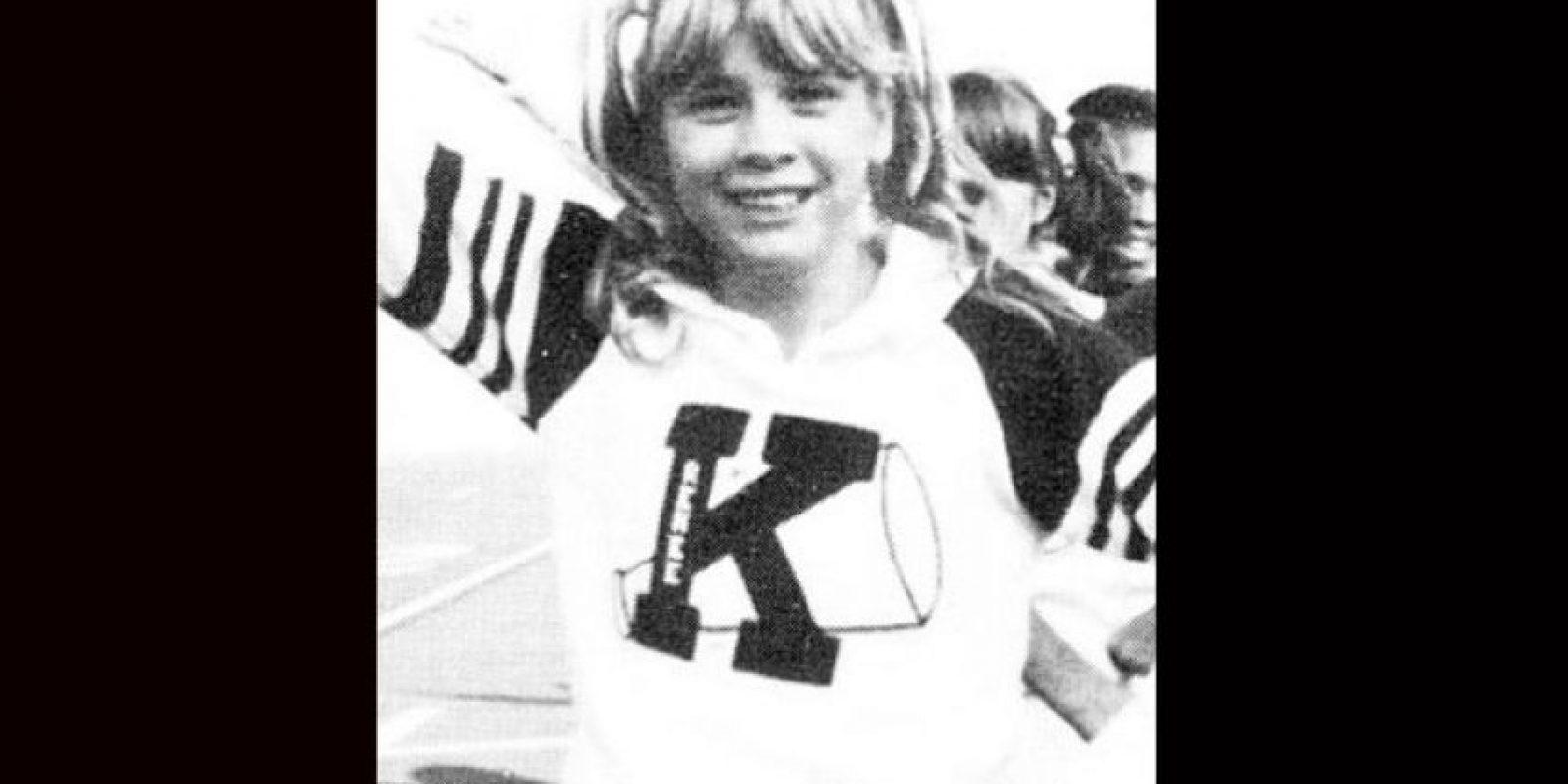 Renée Zellweger fue porrista de la Katy High School Foto:Twitter