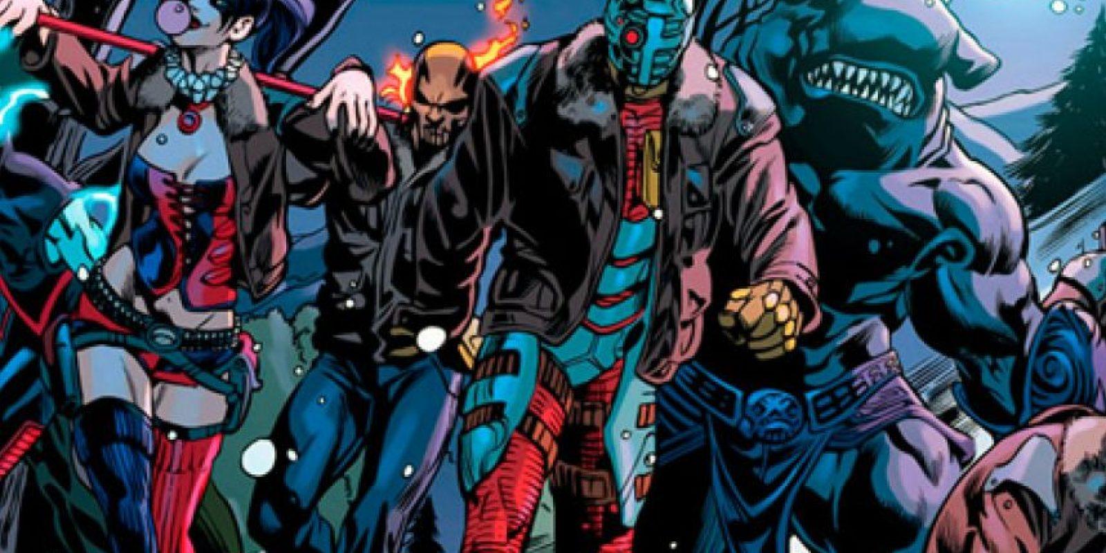 Suicide Squad en su versión de cómic. Foto:DC Comics