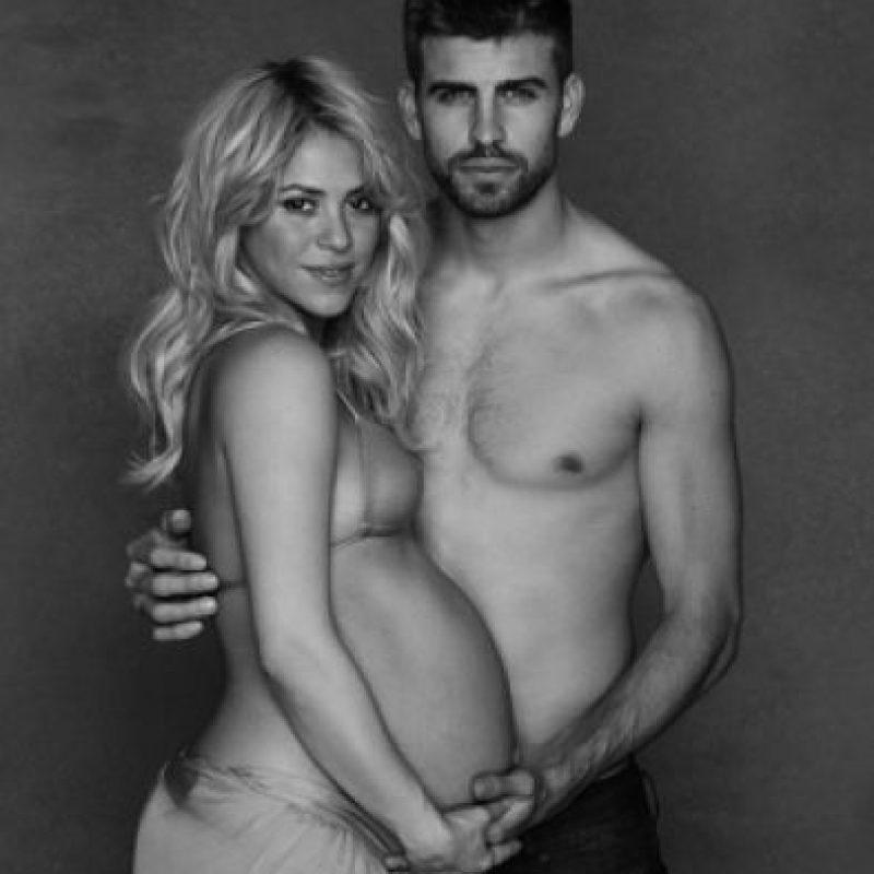 Posó para la UNICEF Foto:Twitter Shakira
