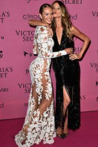 Candice Swanepoel y Behati Prinsloo Foto:Getty Images