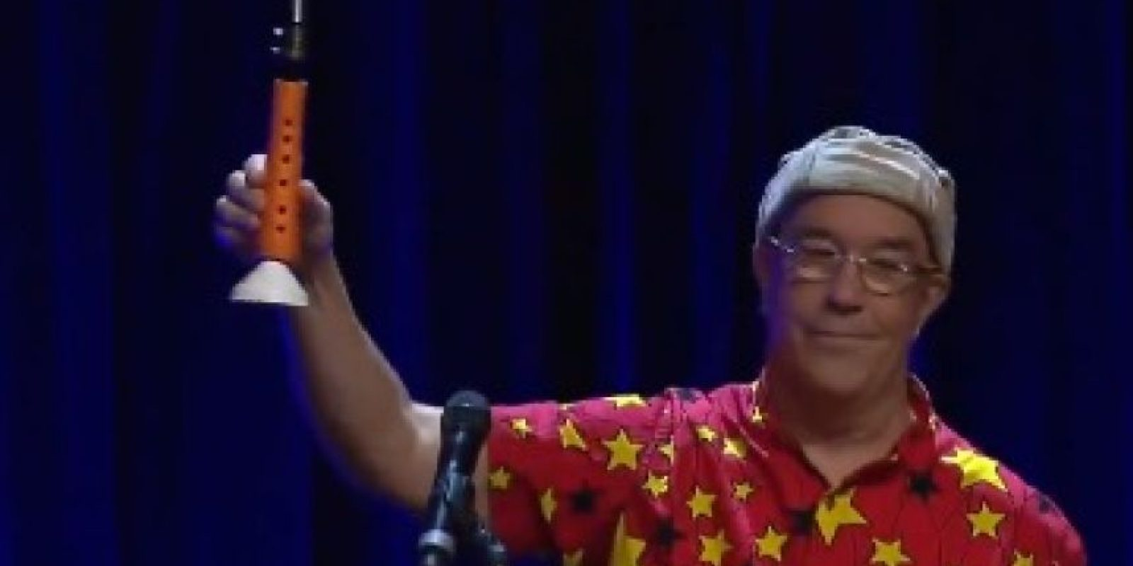 1. Clarinete Foto:Vía Youtube/TEDx Talks