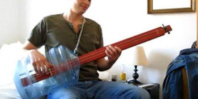 3. Guitarra Foto:Tumblr.com/Tagged/instrumentos-hechos-casa