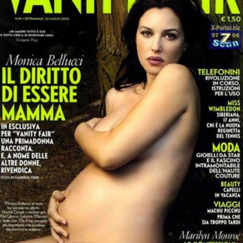 2004, Monica Bellucci Foto:Vanity Fair Italia