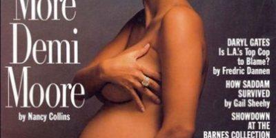 FOTOS: 16 famosas que han posado desnudas y embarazadas