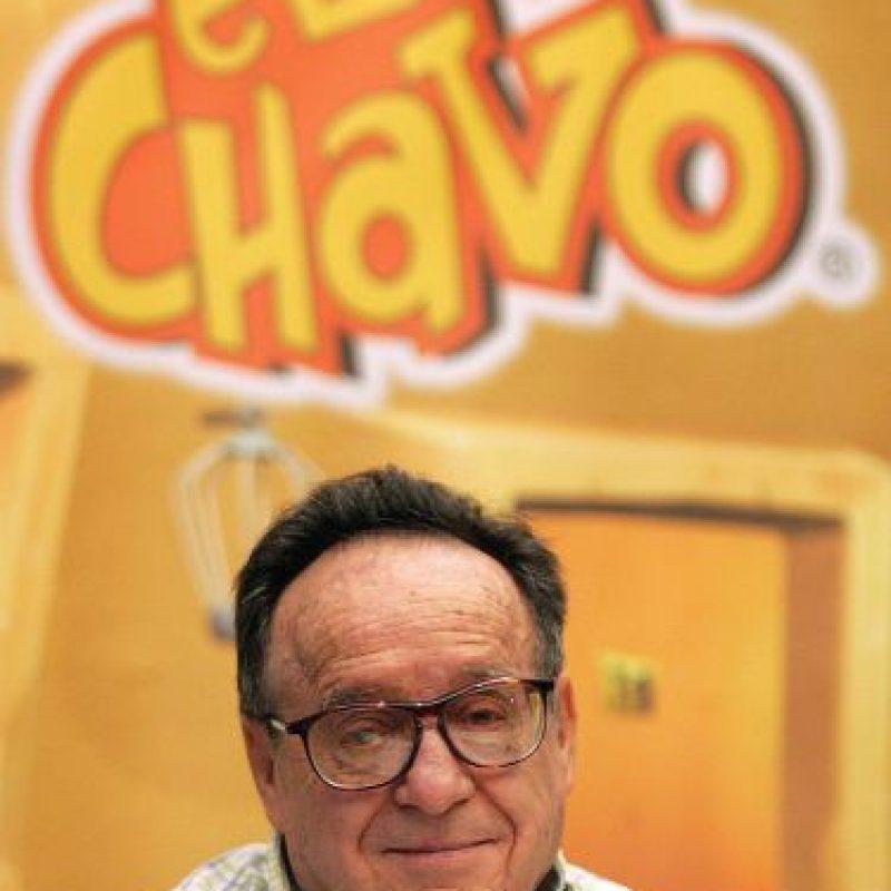 El comediante Roberto Gómez Bolaños murió el viernes, 28 de noviembre, en su hogar en Cancún México. Foto:AFP