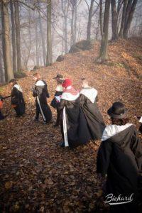 Hacen recorridos por el bosque Foto:Facebook/ John-Paul Bichard
