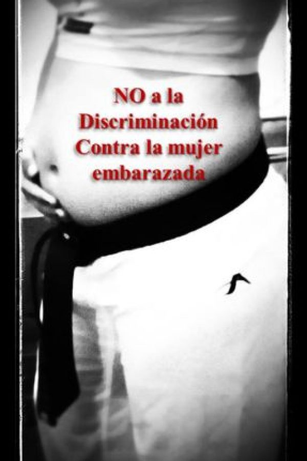 Así expresó su indignación porque no se le permitió competir en Veracruz 2014. Foto:Facebook María Castellanos