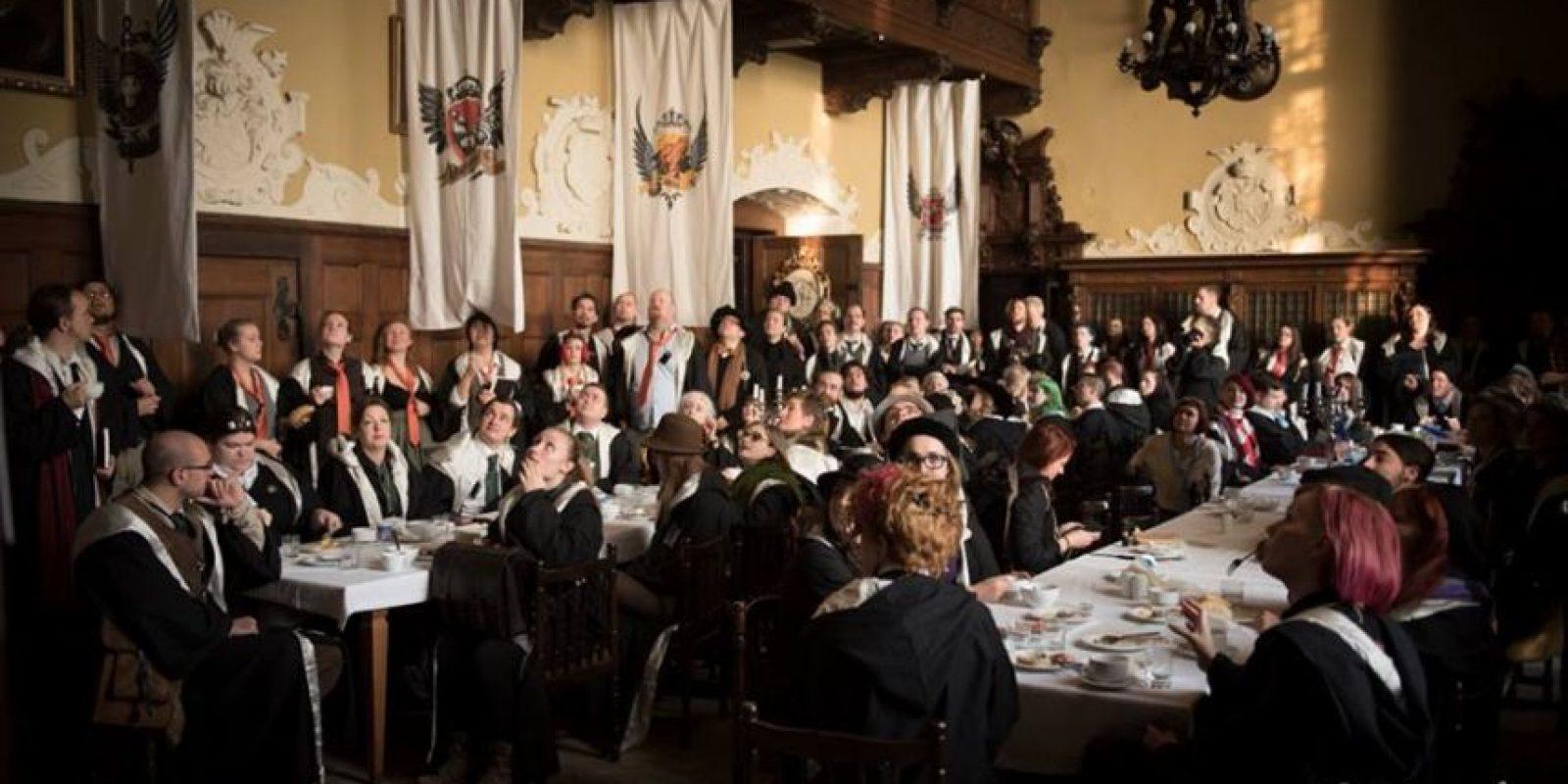 """""""College of Wizardry"""" es una experiencia creada por los fanáticos de """"Harry Potter"""" Foto:Facebook/ John-Paul Bichard"""