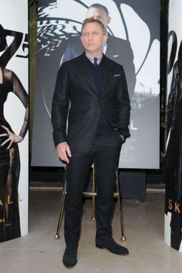 Daniel Craig está casado en segundas nupcias con Rachel Weisz Foto:Getty Images