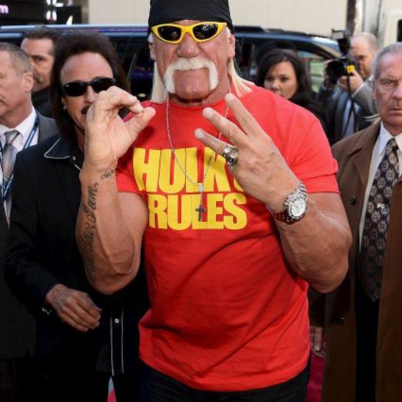Hulk Hogan, de la WWE Foto:Getty Images