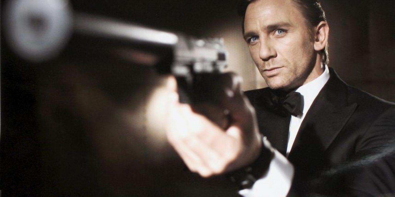 Daniel Craig encarnando a James Bond Foto:Getty Images