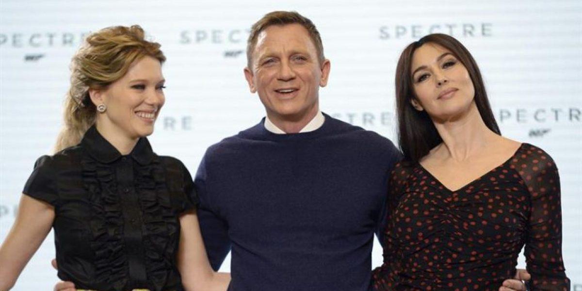 Fotos: Mónica Bellucci y Léa Seydoux son las nuevas caras del próximo filme de James Bond