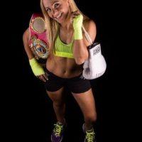 La boxeadora argentina es campeona mundial minimosca de la OMB y AMB Foto:Twitter: @latutibopp