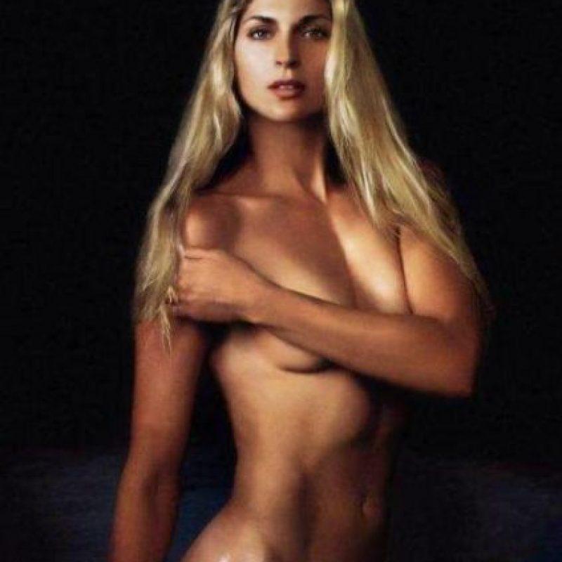 La jugadora de voleibol fue la portada de la edición de enero de 2001. Foto:Playboy