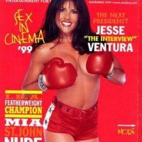 Mia St. John para Playboy. Foto:Playboy