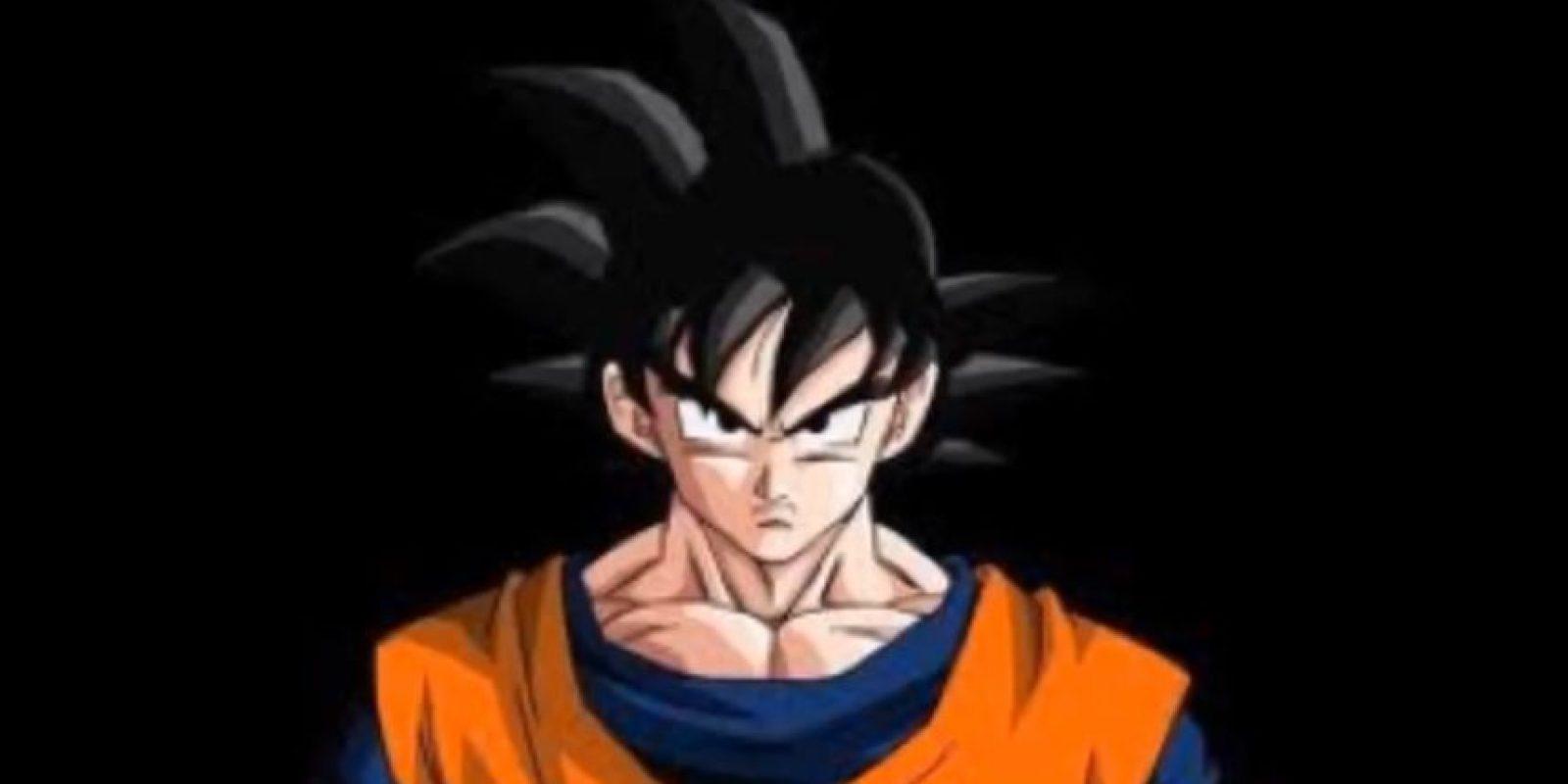 Así era la apariencia normal de Goku Foto:Youtube: Kakaroto Saiyan