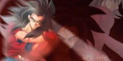 Después de convertirse en Ozaru dorado, Goku tiene la capacidad de pasar al Supersaiyajn 4 Foto:Youtube: Kakaroto Saiyan