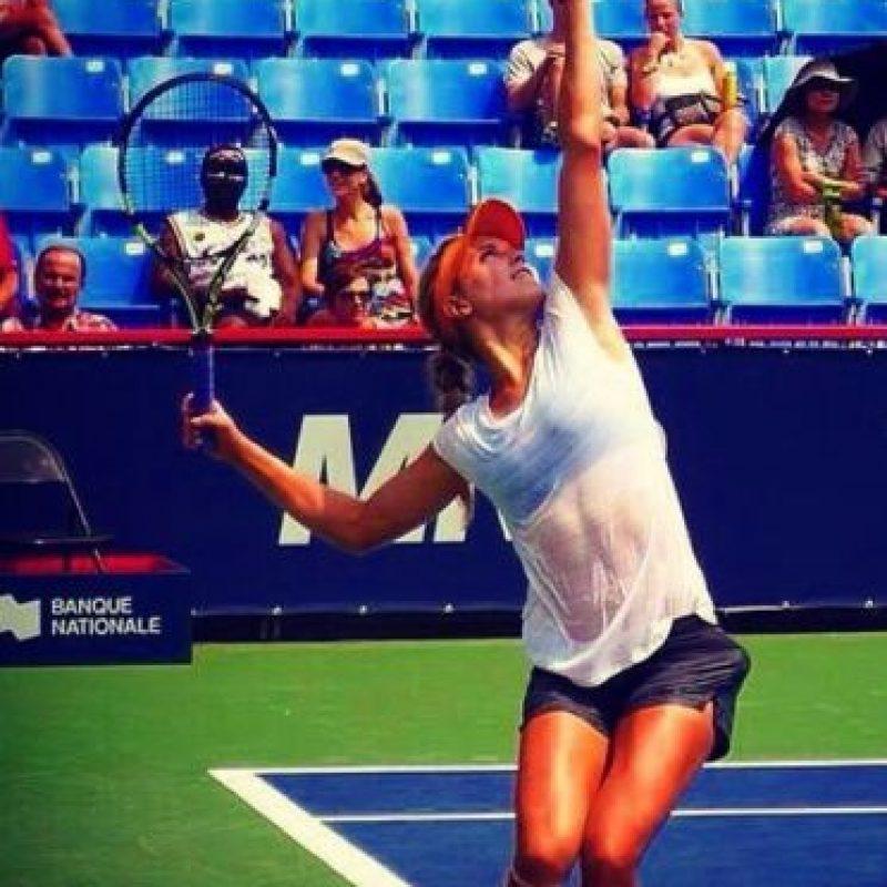 La tenista canadiense Eugénie Bouchard tiene 20 años de edad. Foto:instagram.com/geniebouchard