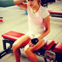 """Bouchard ha sido nombrada por algunos medios como """"la sucesora de María Sharapova"""". Fue finalista en Wimbledon 2014, donde perdió ante Petra Kvitová. Foto:instagram.com/geniebouchard"""